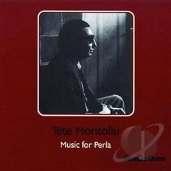Montoliu, Tete - Music for Perla CD Cover Art
