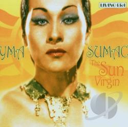 Sumac, Yma - Sun Virgin CD Cover Art