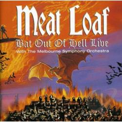 Meat Loaf - Bat Out of Hell: Live with the Melbourne Symphony CD Cover Art