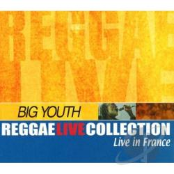Big Youth - Live In France: Strasbourg & Lyon CD Cover Art