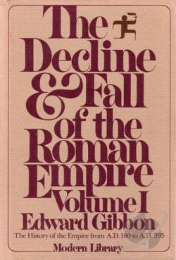 Gibbon, Edward - Decline & Fall Roman Empire I CD Cover Art