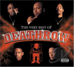 Very Best of Death Row CD Cover Art
