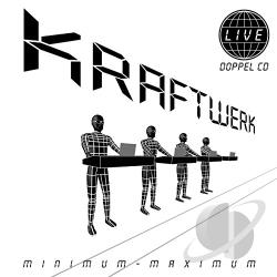 Kraftwerk - Minimum-Maximum CD Cover Art