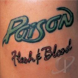 Poison - Flesh & Blood: 20th Anniversary Edition CD Cover Art