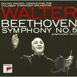 Walter, Bruno - Beethoven:Symphony No.4 In B-Flat Ma CD Cover Art