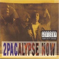 Tupac - 2Pacalypse Now CD Cover Art
