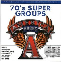Rock The Planet: 70's Super Groups CD Cover Art
