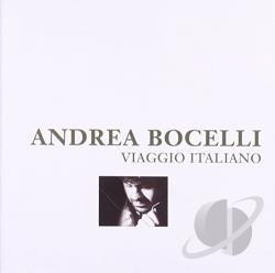 Bocelli, Andrea - Viaggio Italiano CD Cover Art