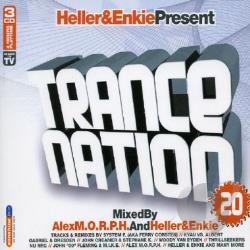 Trance Nation V.20 CD Cover Art