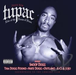Tupac - Live at the House of Blues CD Cover Art