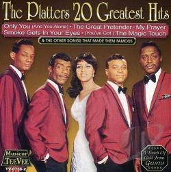 Platters - 20 Greatest Hits CD Cover Art