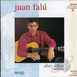 Falu, Juan - Diez Anos 1986/1995 CD Cover Art