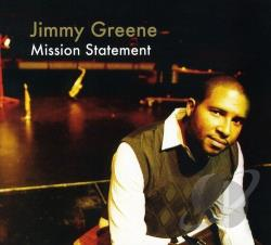 Greene, Jimmy - Mission Statement CD Cover Art