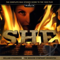 Steiner, Max - She: The Complete Max Steiner Score to the 1935 Film CD Cover Art