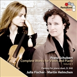 Fischer / Helmchen / Schubert - Franz Schubert: Complete Works for Violin & Piano, Vol. 2 CD Cover Art