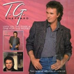 Sheppard, T.G. - Living On The Edge CD Cover Art
