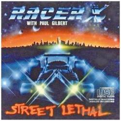 Racer X - Street Lethal CD Cover Art