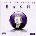 Bach - Very Best of Bach CD Cover Art