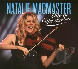 Macmaster, Natalie - Live in Cape Breton CD Cover Art