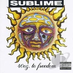 Sublime - 40 Oz. to Freedom CD Cover Art
