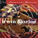Bazelon: - Music By Irwin Bazelon CD Cover Art