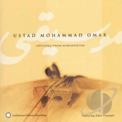 Mohammad, Omar - Virtuoso From Afghanistan CD Cover Art