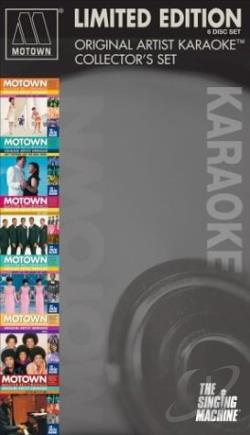 Machine, Singing - Motown 6-Pack: Original Artists Karaoke Collectors Set CD Cover Art