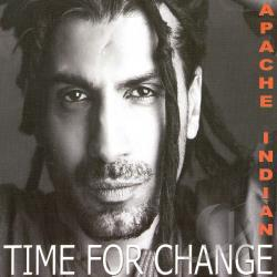 Apache Indian - Time for Change CD Cover Art