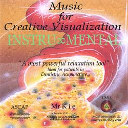 Music For Creative Visualization - Instru-Mental CD Cover Art