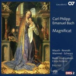 Mauch, Monika - MAGNIFICAT WORKS CD Cover Art