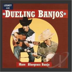 Dueling Banjos - More Bluegrass Banjo CD Cover Art