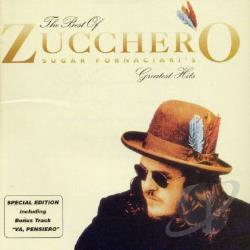 Zucchero / Zucchero Fornaciari - Best of Zucchero Sugar Fornaciari's Greatest Hits CD Cover Art
