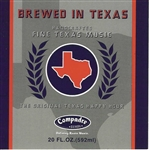 Brewed In Texas: The Original Texas Happy Hour CD Cover Art