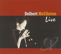 McClinton, Delbert - Live CD Cover Art