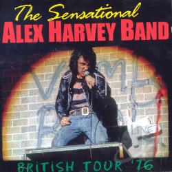 Sensational Alex Harvey Band - British Tour '76 CD Cover Art