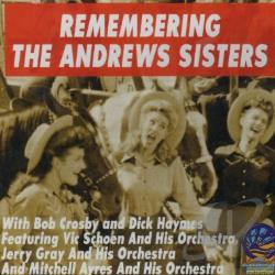 Andrews Sisters - Remembering CD Cover Art
