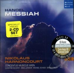 Cmw / Handel / Harnoncourt / Larsson / Schafer - Handel: Messiah CD Cover Art