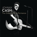 Cash, Johnny - Great Lost Performance CD Cover Art