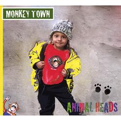 Animal Heads - Monkey Town CD Cover Art