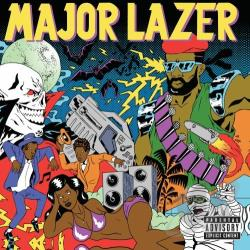 Major Lazer - Guns Don't Kill People... Lazers Do CD Cover Art
