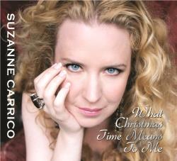 Carrico, Suzanne - What Christmas Time Means to Me CD Cover Art