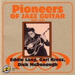 Lang, Eddie - Pioneers Of Jazz Guitar 1927-1938 CD Cover Art