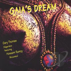 Gary Thomas (Didjeridoo) - Gaia's Dream CD Cover Art