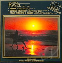 Madacy Orchestra - Best Of Ravel CD Cover Art