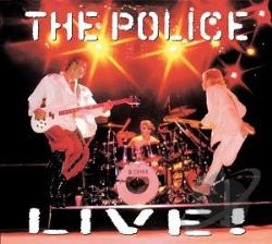 Police - Live CD Cover Art