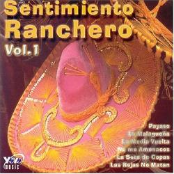 Huertas, Harold - Sentimiento Ranchero, Vol. 1 CD Cover Art