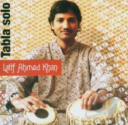 Lateef Ahmed Khan - Tabla Solo CD Cover Art