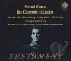 Bay / Keilberth / Wagner - Wagner: Der Fliegende Hollander CD Cover Art