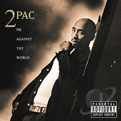 Tupac - Me Against the World CD Cover Art