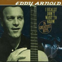 Arnold, Eddy - I Really Don't Want To CD Cover Art